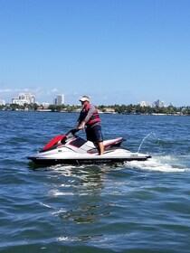Man on jet ski in Florida
