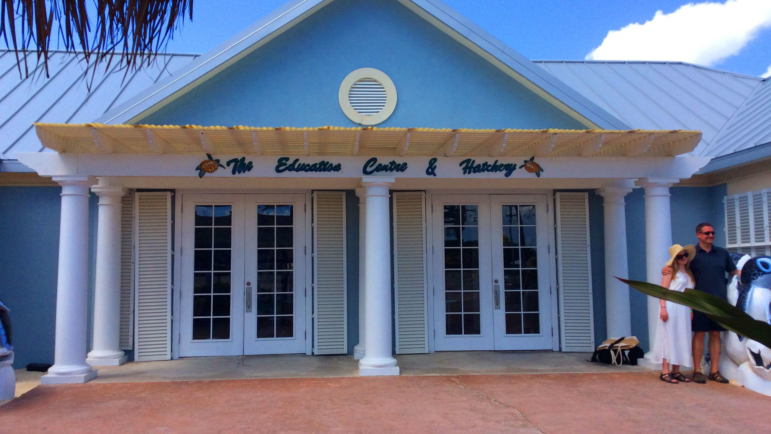 Education Center and Hatchery at the Cayman Turtle Center