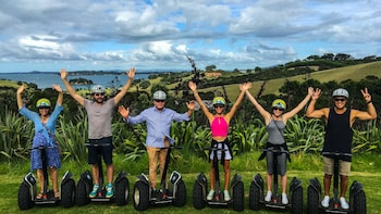 """Bay to Beach""-Segway-Tour über Waiheke Island"