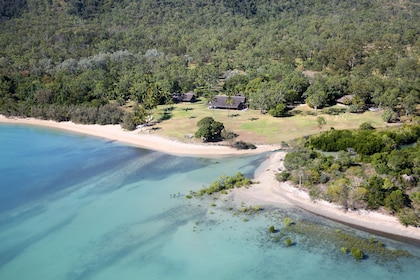Aerial view of Paradise Cove Resort in Queensland