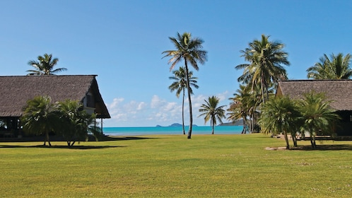 Open field at Paradise Cove Resort in Queensland