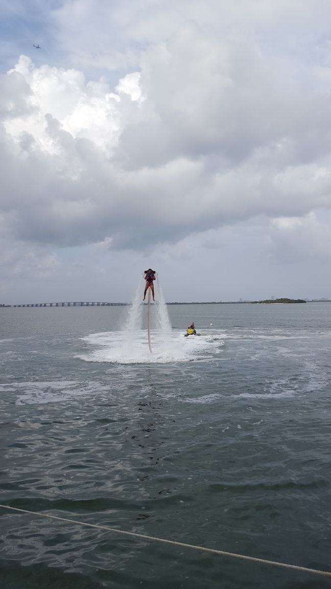 Jetpack experience in Miami