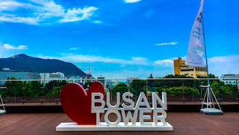 Underground & Walking Tour with Visits to Busan Tower & Local Markets