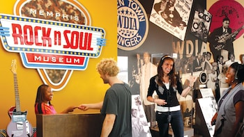 Admission to the Memphis Rock 'n' Soul Museum