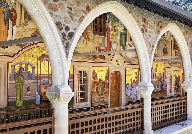 Show item 4 of 7. Kykkos Monastery