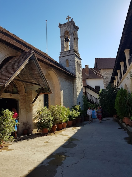 Show item 3 of 7. Kykkos Monastery