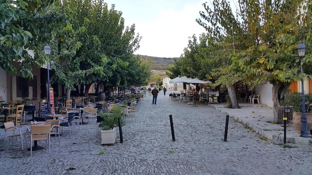 Show item 5 of 7. Cobblestone street in Cyprus