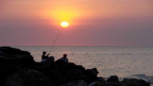 Sunset fishing tour on Phu Quoc Island, Vietnam