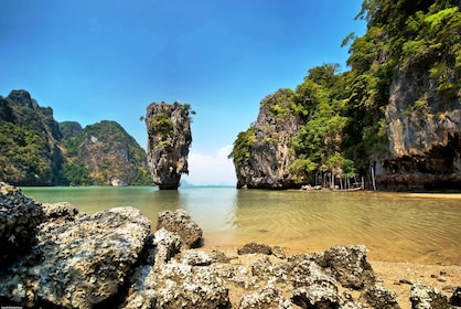 James Bond Island by Big Boat and Sea Canoe from Phuket