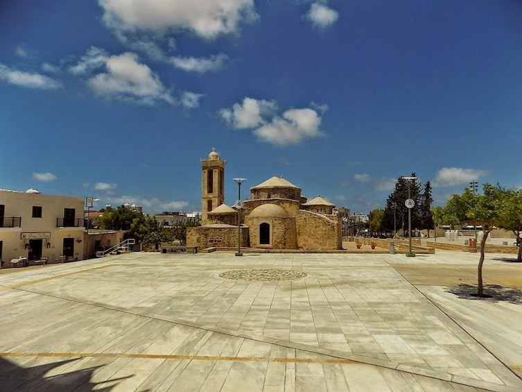 Plaza in Pafos, Cyprus