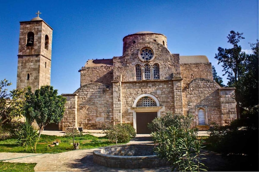 Show item 5 of 6. St Barnabas Monastery and Icon Museum in Cyprus