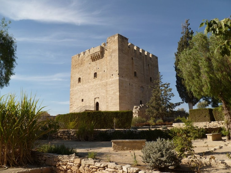 Large ancient fortress in Cyprus