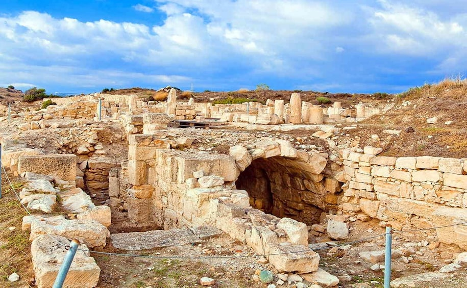 Ancient ruins in Cyprus