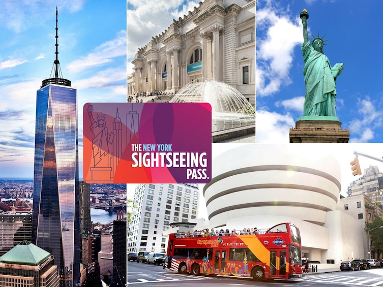 Show item 1 of 8. The New York Sightseeing Flex Pass - Save Big on attractions