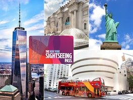 บัตรผ่าน New York Sightseeing Flex Pass