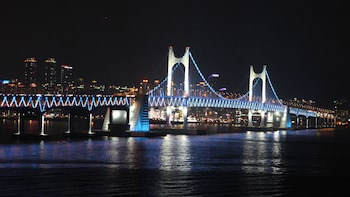 Night-time Bus Tour with Busan Tower & Hop-On Hop-Off Bus Pass