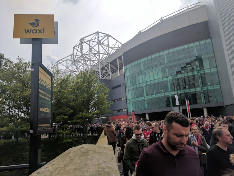 Show item 2 of 4. Line for the Water Taxi Ride to Old Trafford