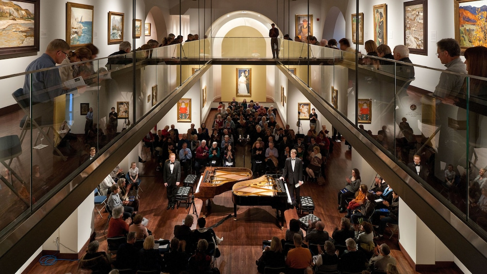 Show item 1 of 5. Piano concert at the Museum of Russian Art in Minnesota