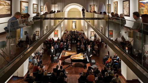 Piano concert at the Museum of Russian Art in Minnesota