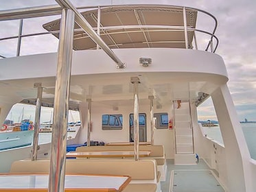 Aboard the boat in Thailand