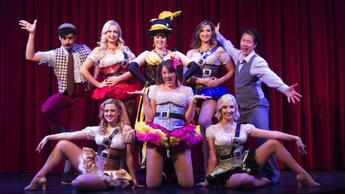 Group of performers pose for photo at Teatro Martini in Orange County