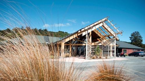 Exterior of Pukaha Mount Bruce Wildlife Centre
