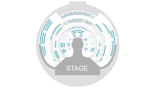 WOW Splash Las Vegas seating chart