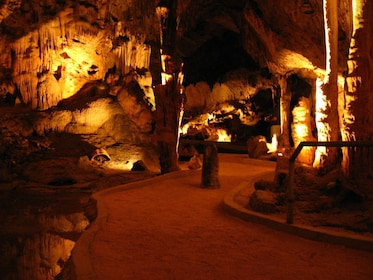 Interior of the Hato caves in Curacao