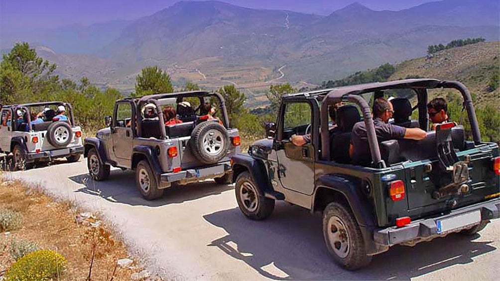 Show item 2 of 5. The jeeps in Costa Blanca
