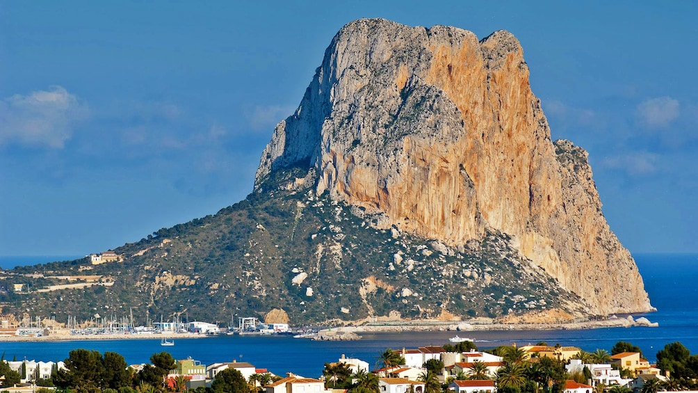 Show item 5 of 5. View of rock formations on the Costa Blanca costline