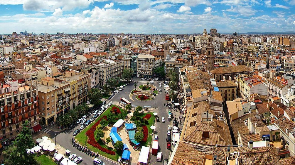 Show item 1 of 4. Aerial view of Valencia