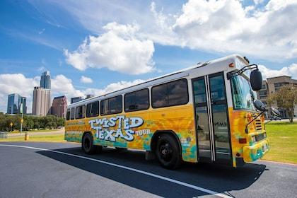 Tour bus in Texas