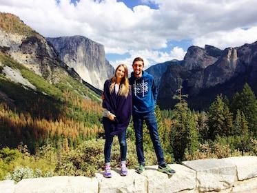 Couple at beautiful Yosemite