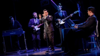 Jersey Boys Off-Broadway