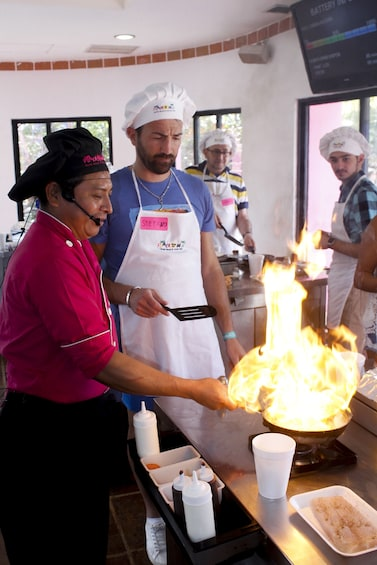 The Original Mexican Cooking Class Workshop and Tasting