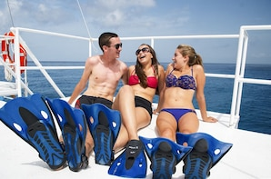 Snorkel en Cozumel en dos arrecifes y Playa Mia