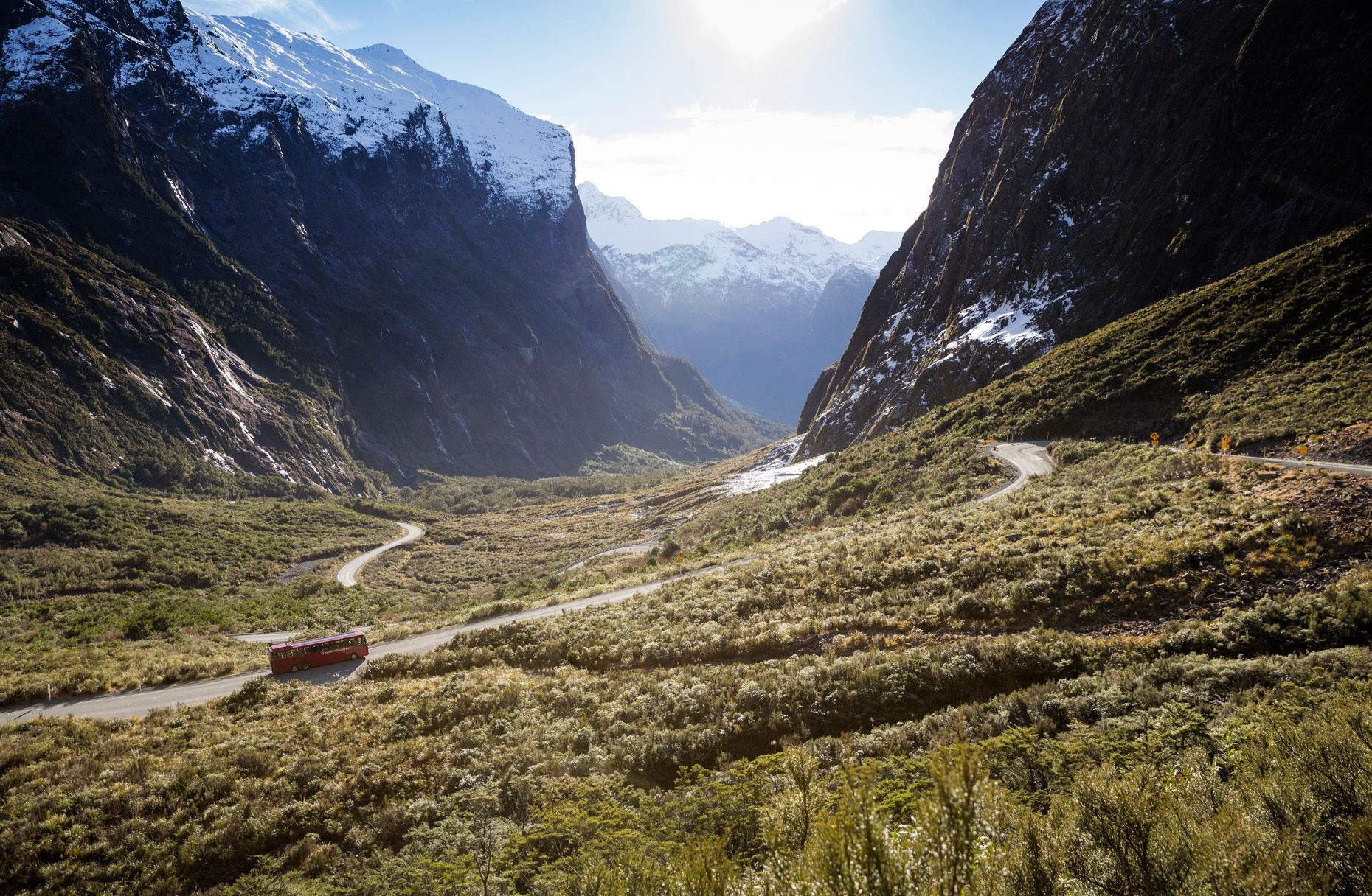 Milford Sound Coach & Nature Cruise with Flyback and Lunch
