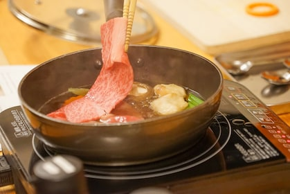 Cook and Taste Wagyu Kaiseki Course Lunch