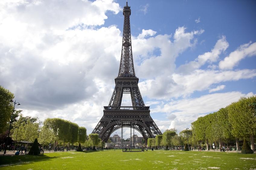 Show item 5 of 10. Eiffel Tower Climbing Tour & Glass Floor Experience