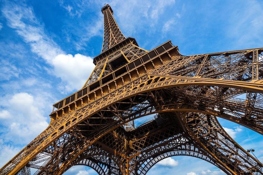 Show item 1 of 10. Eiffel Tower Climbing Tour & Glass Floor Experience