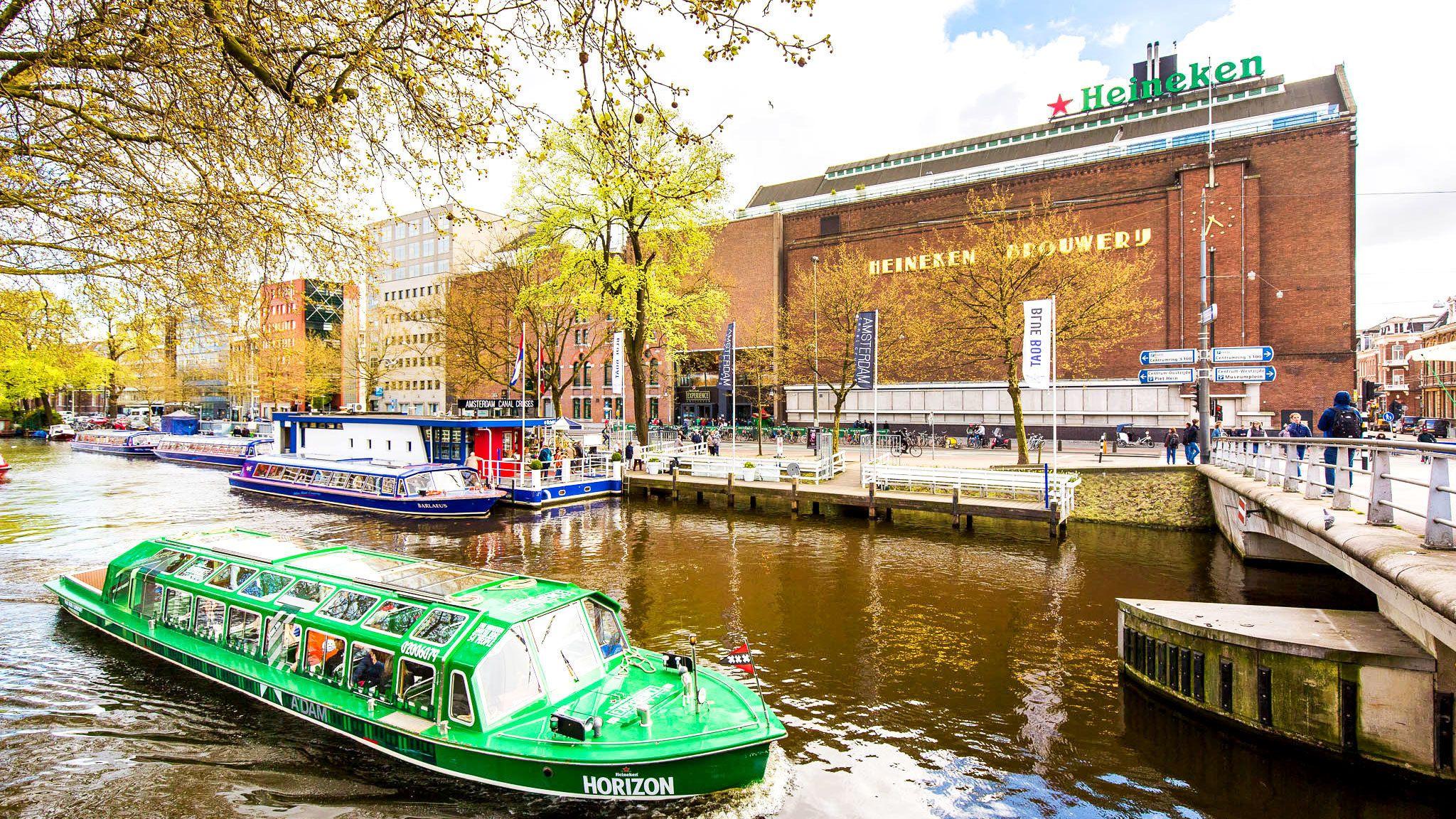 Skip-The-Line Heineken Experience Ticket & Canal Cruise