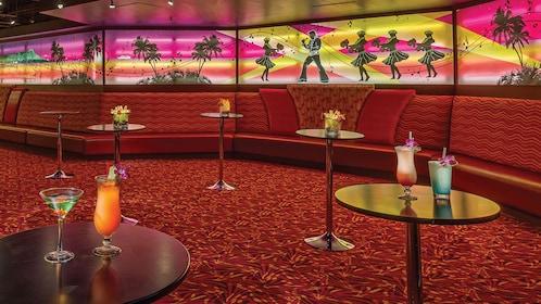 Rock-a-Hula seats and tables