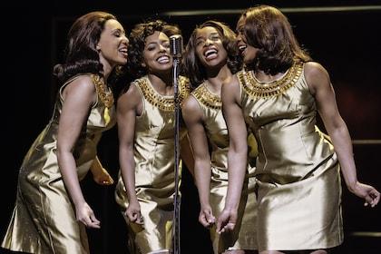 6. l-r Hannah Jay-Allan, Adrienne Warren, Perola Congo and Sia Kiwa (Tina and the Ikettes). Photo by Manuel Harlan.jpg