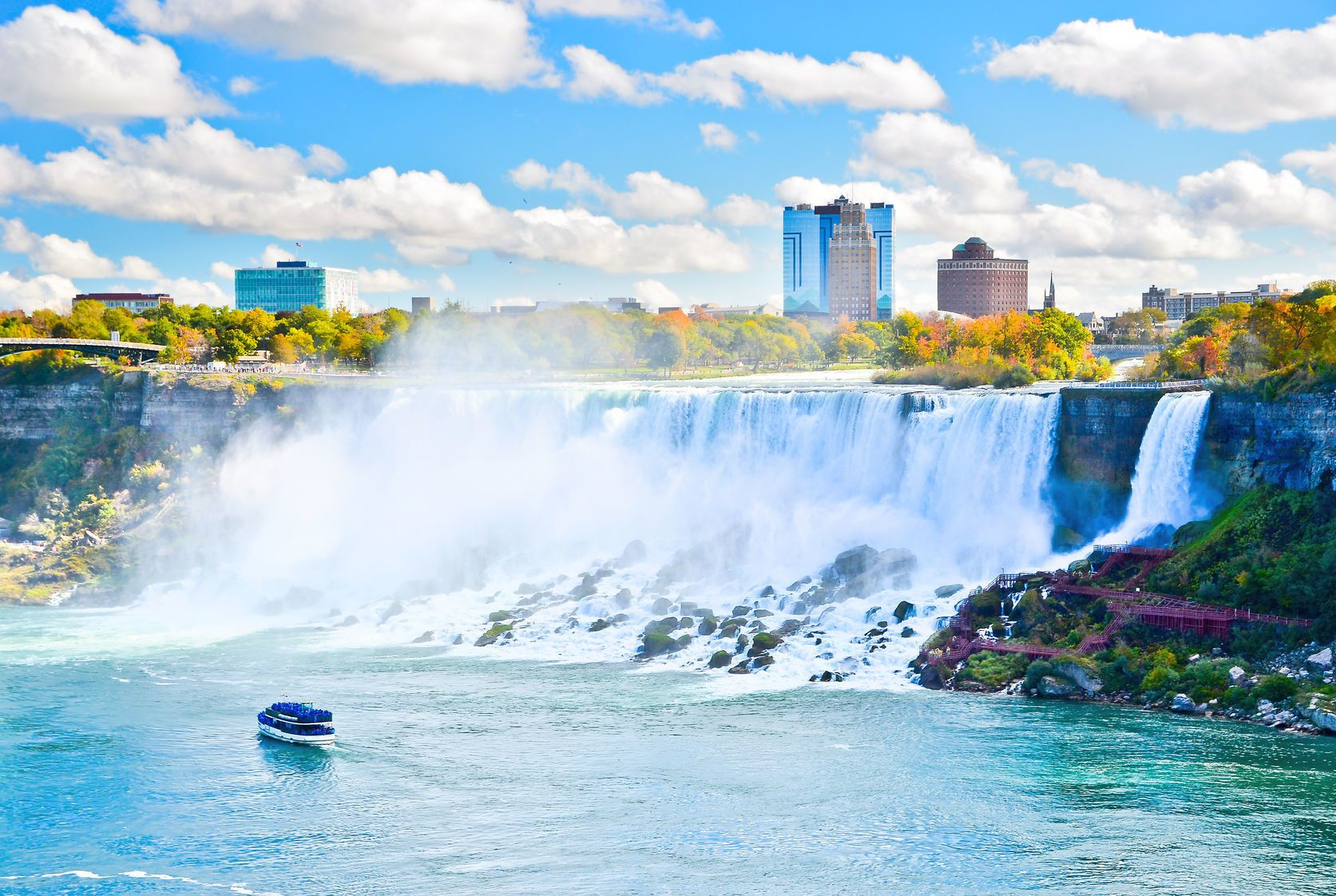 Niagara Falls in One day Tour from New York City