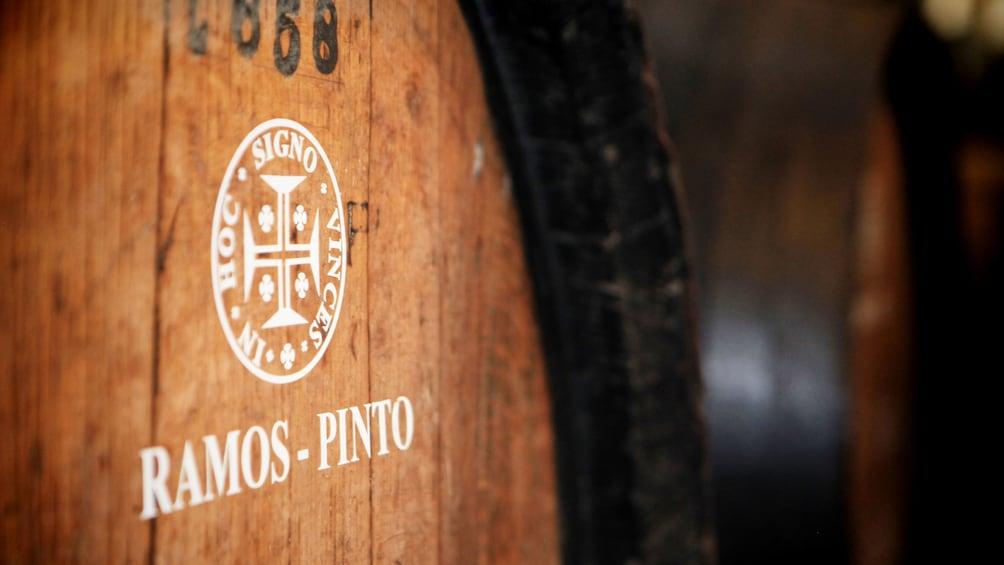 Show item 1 of 5. Wine barrel in Porto