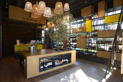 The retail store at Vinolia