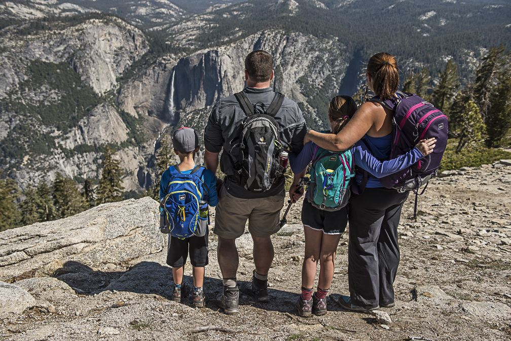 Beginner Yosemite National Park Family Hike