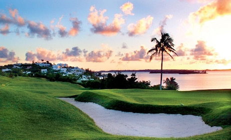 Beautiful sunset views of Bermuda