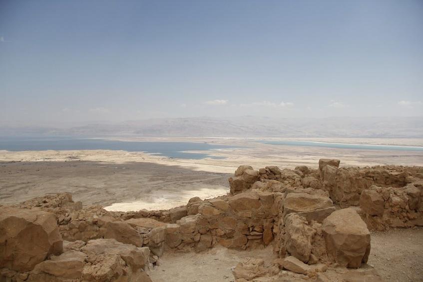 Show item 1 of 8. Masada, Ein Gedi, Dead Sea, & More Tour