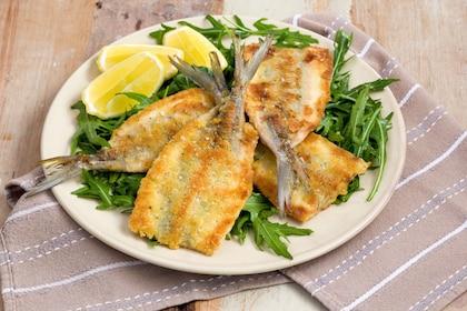 fried fish filets